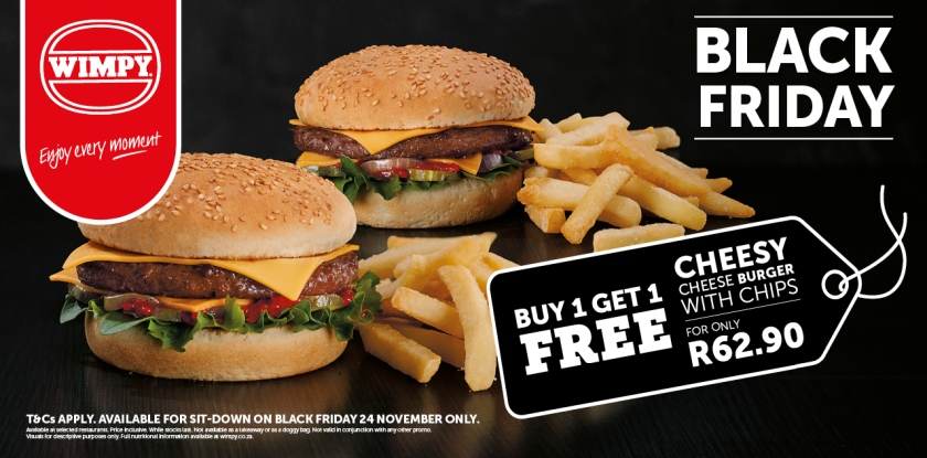 Wimpy Black Friday deal 2017