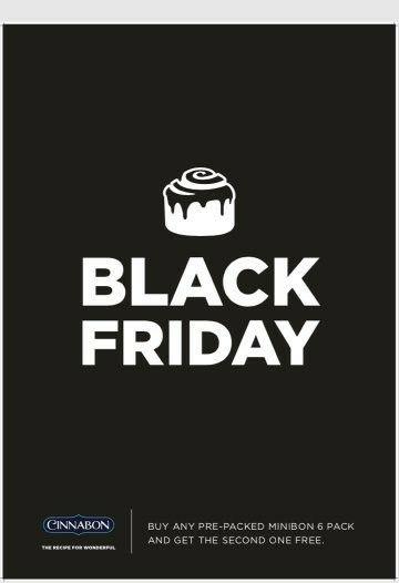 Cinnabon Black Friday 2017